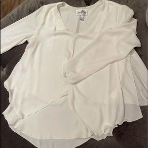 Womans white blouse